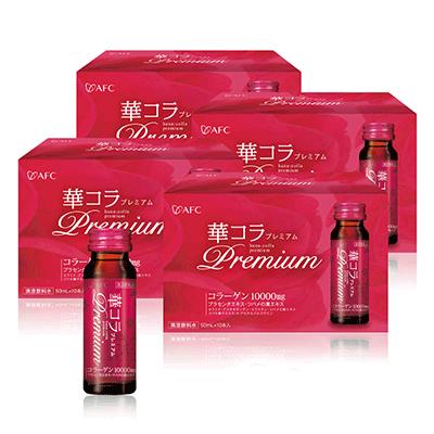 AFC宇勝淺山 美妍拉提Premium膠原蛋白飲 四盒組