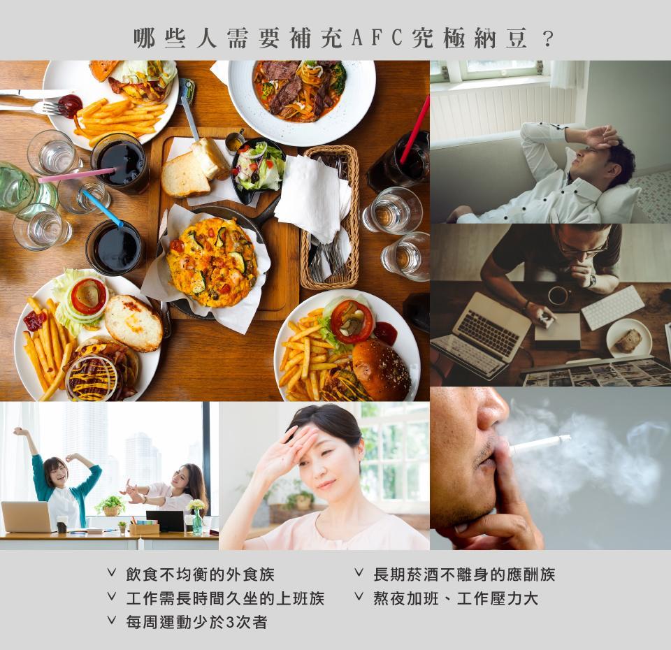 AFC宇勝淺山 究極新納豆膠囊食品